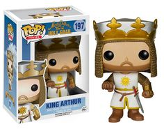 'Tis but a scratch! Monty Python and the Holy Grail Pops Glam Shots!