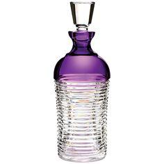 Buy Waterford Crystal Mixology Decanter, Purple | John Lewis
