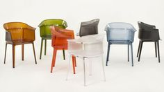 Kartell chairs Papyrus