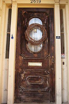 Doors in the Marigny - New Orleans LA by estudiomartita, via Flickr
