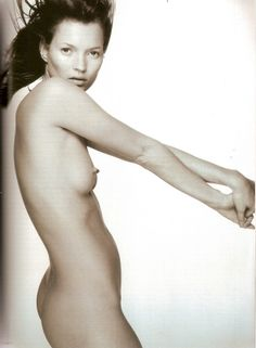 Kate Moss British Vogue April 1999 Photography: Nick Knight