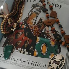 Vogue loves tribal and so does BragsandRelics. Check out our vintage finds ... and the latest fashion trends.