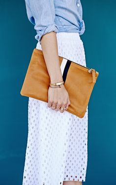 I love this combo of demon and eyelet. The clutch is perfect