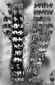 by fatima quiroz Fluxus Art, Poesia Visual, Letter To Teacher, Abstract Images, Pictogram, Mark Making, Typography, Calligraphy, Graphic Design