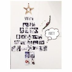 女性で、のクリスマスデコ/クリスマス/おうちカフェ/クリスマスツリー/クリスマスディスプレイ/海外インテリアに憧れる…などについてのインテリア実例を紹介。「明日は仲良しのお友達と我が家でクリスマスパーティ ༘♡ 友達との思い出の写真でツリーをつくってみた ༘♡ 喜んでくれるかな?? ༘♡ 」(この写真は 2014-12-06 23:34:04 に共有されました)