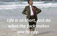 Mr. Bean happy meme