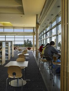 The Sammamish Library - inside