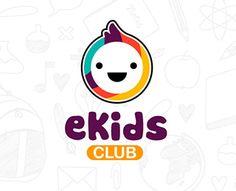 eKids Club is a Great New Logo Design #logo #design #inspiring