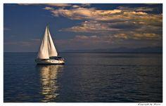 Sailing... - Skiathos, Sporades, Greece
