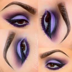 Ravens inspired makeup - @kriistiina_em