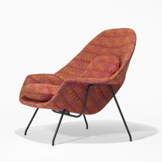 Eero Saarinen / prototype Womb chair < Important Design, 02 June 2009 < Auctions   Wright