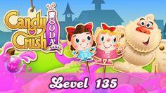 Candy Crush Soda Saga Level 135 Gameplay Walkthrough
