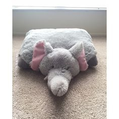 Elephant Pillow Pet Elephant Pillow Pet. This was given to me as a gift but I have no use for it. Nothing is wrong with it at all! It's brand new, just without the tags. It is super soft & fluffy! No stains or holes. From a nonsmoking home. ✅Use offer button to negotiate price. Trading. ✅Discounted bundling. Pillow Pet Other