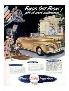 Vintage Ford advertisement