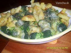 Chrumkavá brokolica - rýchla večera - recept | Varecha.sk Broccoli, Vegetables, Food, Veggies, Essen, Veggie Food, Vegetable Recipes, Yemek, Eten