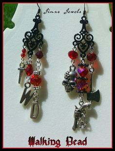 Check out this item in my Etsy shop https://www.etsy.com/listing/237201113/walking-dead-inspired-earrings