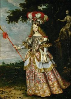 Wive of Leopold I, Margarita Teresa of Spain