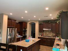 Led Recessed Lighting, Pot Lights, Light Installation, Vanity Lighting, Home Improvement, Mirror, House, Home Decor, Decoration Home