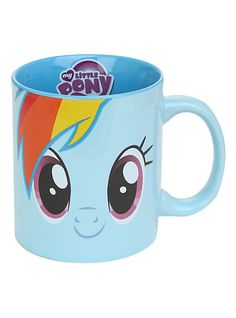 by My Little Pony - My Little Pony Rainbow Dash Mug ~ Hot