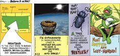Ripley's Believe It or Not by John Graziano for Mar 12, 2017   Read Comic Strips at GoComics.com