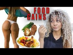 Food for Big Booty Gains Thigh Challenge, Plank Challenge, Weight Gain Meals, Weight Loss, Easy Workouts, Butt Workouts, Workout Exercises, Workout Routines, Workout Videos
