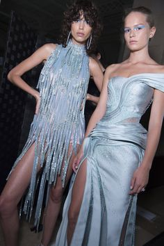 Backstage at the #AtelierVersace Fall 2016 show