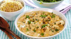 Oppskrift på Kyllinggryte og couscous
