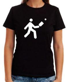 Pickleball Stickman Women T-Shirt