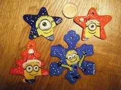 handpainted minion christmas decorations minion christmas minion craft minion costumes minion pictures - Minions Christmas Decorations