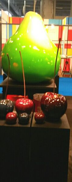 BULL & STEIN cherries @ Equip' Hotel 2014, Paris