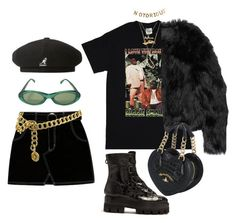 """""""Untitled #315"""" by uraveragestyle ❤ liked on Polyvore featuring kangol, Charlotte Russe, Sonia Rykiel, Louis Vuitton, Altuzarra, E L L E R Y, Vivienne Westwood and Chanel"""