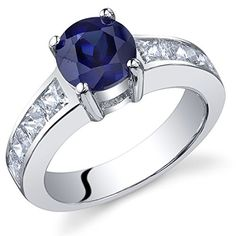 Revoni Simply Sophisticated 1.75 carats Sapphire Ring in Sterling Silver Size R, Revoni http://www.amazon.co.uk/dp/B005H0O1L2/ref=cm_sw_r_pi_dp_0tpkvb0R780T9