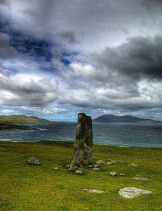 Macleod Stone, Scotland (HDR by Stuart Herbert, via Flickr) Clan Macleod, Wales, Edinburgh, England Ireland, Scotland Travel, Northern Ireland, Great Britain, Hdr, British Isles