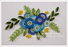 Hi everybody~   I am back to show you my new card.    Enjoy~                          How to make crimped rose     1. 2. use crimp tool.  ...
