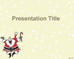 Happy Santa Claus PowerPoint template is a free Christmas PowerPoint template for presentations that you can download to decorate your Santa Claus PowerPoint PPT templates