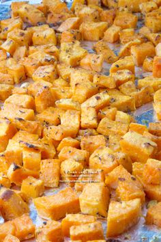 Roasted Parmesan Sweet Potatoes recipe | TeenieCakes.com