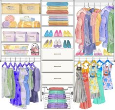 Kids Closet Design 5 made with the CCDS FREE On-Line Image Design system