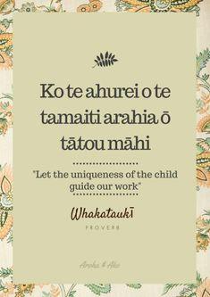 Whakatauki …