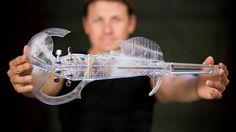 楽器の世界にも3Dプリンタが。 一見エイリアンのようにも、深海生物のようにも見えるこれ、実は世界初...