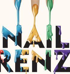 Nail Frenzy – MGPO - Luke Lucas – Typographer   Graphic Designer   Art Director