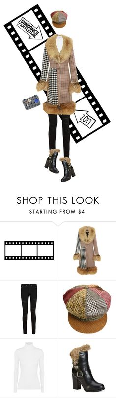 """""""Film Festival: Sundance Style"""" by leslee-dawn ❤ liked on Polyvore featuring E L L E R Y, Yves Saint Laurent, Roberto Cavalli, Michael Kors, Frye and Vivienne Westwood"""