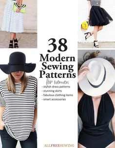 Learn how to sew your own clothes and trendy pieces with this list of hipster clothing patterns. This absolutely chic list includes fashion-forward ideas like a DIY jumper, homemade leggings, and plenty of darling dresses.