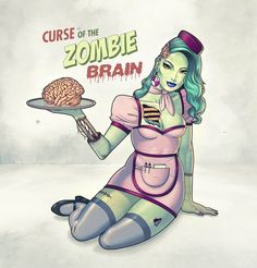 pin-up zombie