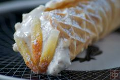 Pizzelle Cannoli Shell recipe with filling ideas ©DPaul Brown