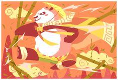 + KUNG FU PANDA + by BoGilliam.deviantart.com on @deviantART