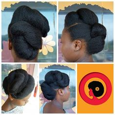 What a lovely sunny sunday. She loved the wrap and tuck and fold. We are open till Come by for a look for the or for the work week. Call us or walk in. Updo Cabello Natural, Natural Hair Salons, Texturizer On Natural Hair, Natural Hair Braids, Pelo Natural, Natural Hair Updo, African Hairstyles, Afro Hairstyles, Bride Hairstyles