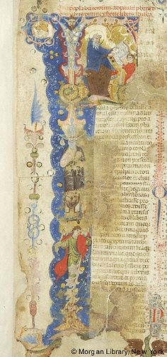 Bible, MS M.436 fol. 1r - Images from Medieval and Renaissance Manuscripts - The Morgan Library & Museum