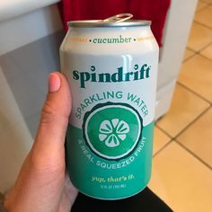 """20 Likes, 3 Comments - Tara Lynn (@tear_uh0319) on Instagram: """"New addiction  Love #spindrift #cucumber  #only2calories"""""""