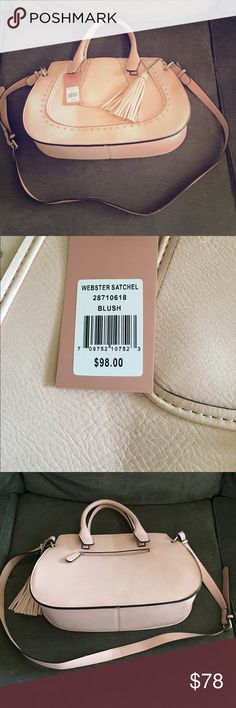 NWT Franco Sarto Blush Purse Very cute and sophisticated hand bag. Lots of room inside with a long strap to hang it off your shoulder. Franco Sarto Bags Totes