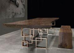 petrified wood desk - Google Search